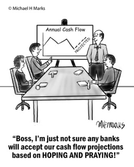 Know Your Financials Before Selling Cartoon